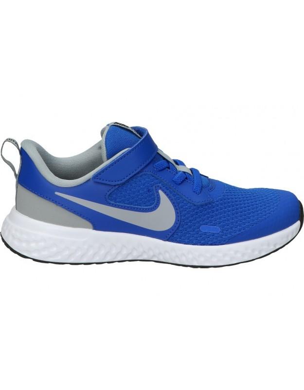 Deportivas para niño nike REVOLUTION 5 bq5672-403 azul running