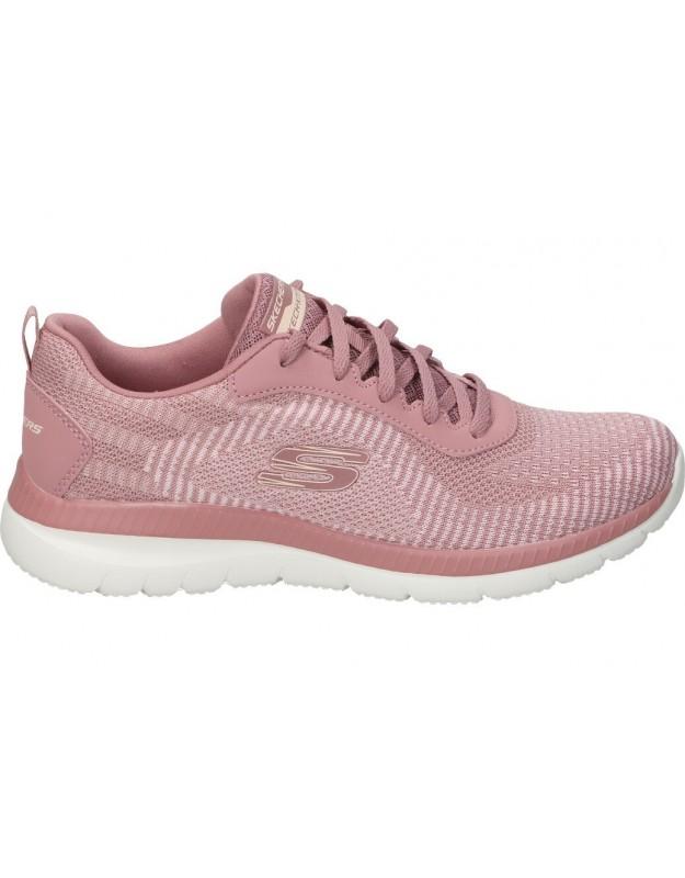 Skechers rosa 149220-ros deportivas para señora