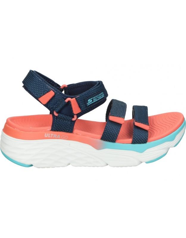 Skechers azul 140120-nvmt sandalias para moda joven
