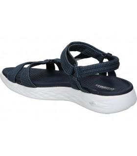 Sandalias casual de moda joven skechers 33218-blk color negro