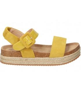 Zapatos casual de moda joven c. tapioca t3550-2 color amarillo