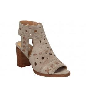 Sandalias para moda joven planos lrk 4679 en marron