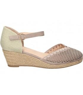 Sandalias para señora skechers 163052-nat beige