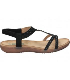 Sandalias color negro de casual skechers 31514-blk