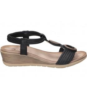 Sandalias pop corn 1140. negro para moda joven