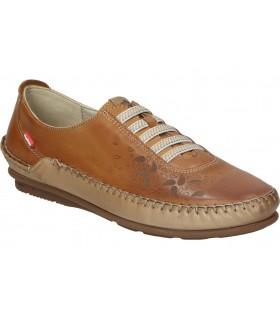 Sandalias para caballero planos walk & fly 022-42880 en marron