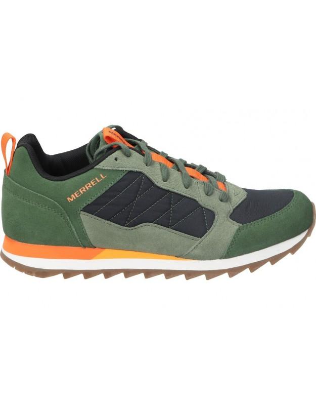 Deportivas casual para hombre Merrell Alpine j002489 verde