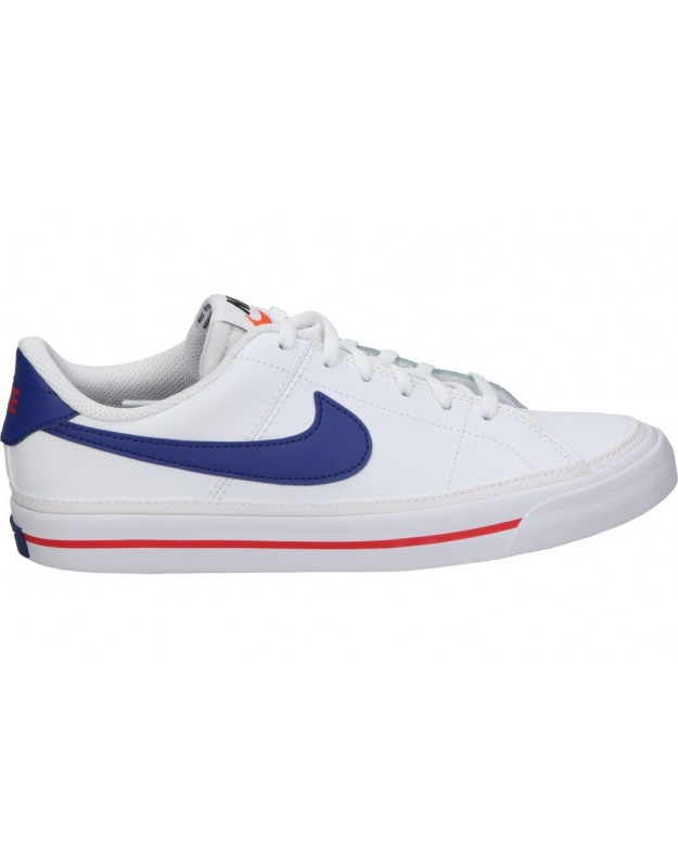 Deportivas para señora Nike Court Legacy da5380-107 blanca