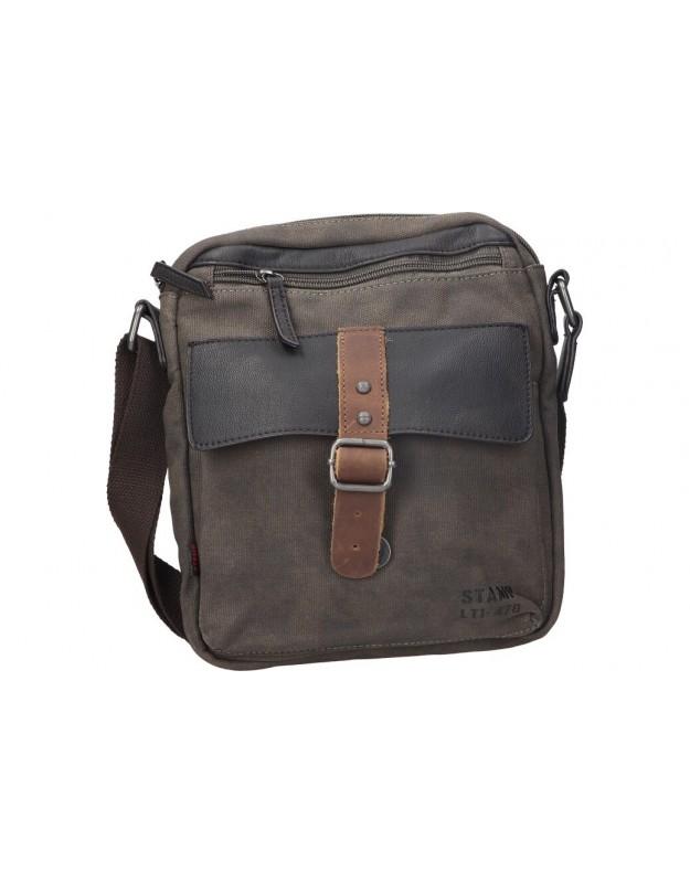 Privata verde st 4722 bolsos para caballero. Med: 22cm anch x 26cm alt x 5cm fnd