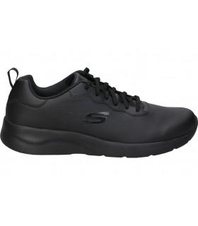 Deportivas color negro de casual skechers 13087-bkrg