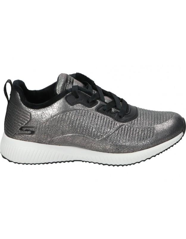Skechers gris 33155-pew deportivas para señora