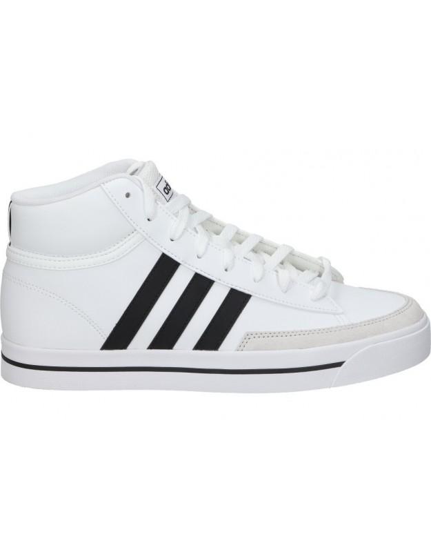 Deportivas adidas RETROVULC MID h02213 blancas botín