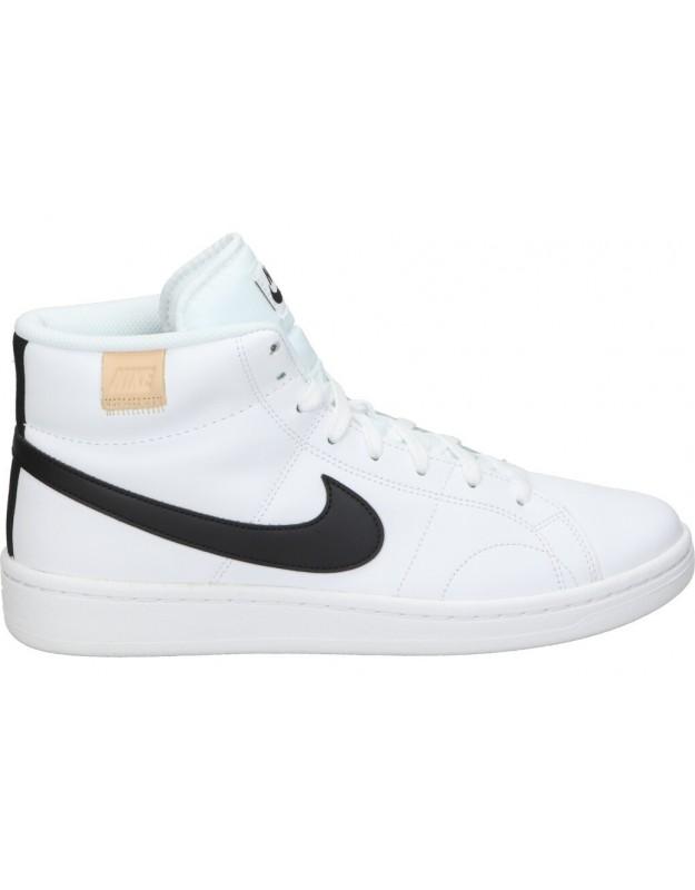 Deportivas casual de caballero nike cq9179-100 color blanco