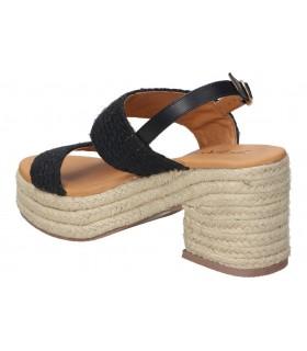 Zapatos para señora cuña amarpies ajh18804 en marron