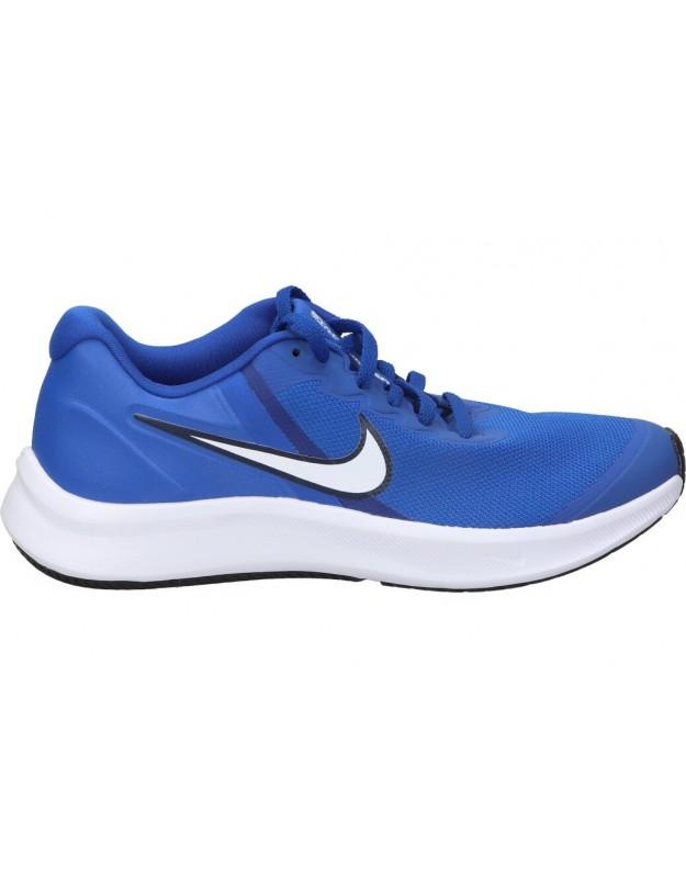 Deportivas casual de señora nike da2776-400 color azul