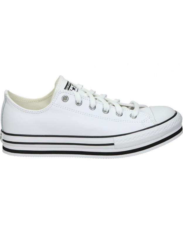 Lonas casual de moda joven converse 669709c-102 color blanco