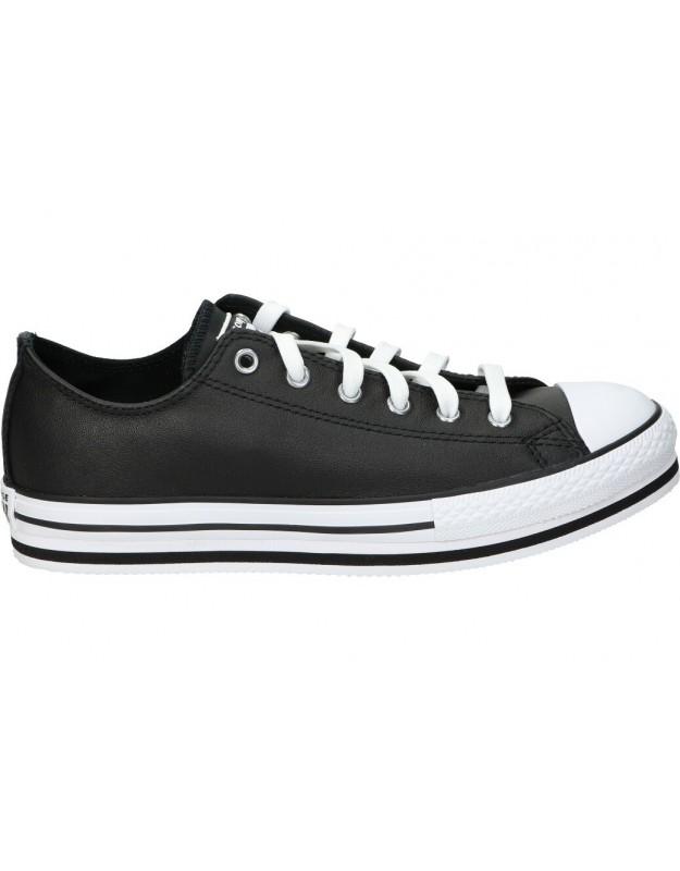 Lonas converse 669710c-001 negro para moda joven