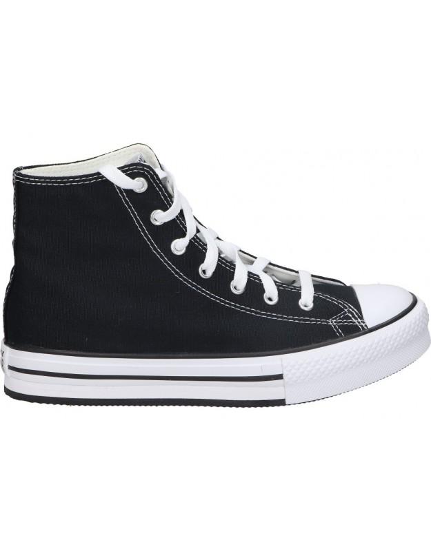 Converse negro 671107c-001 lonas para moda joven
