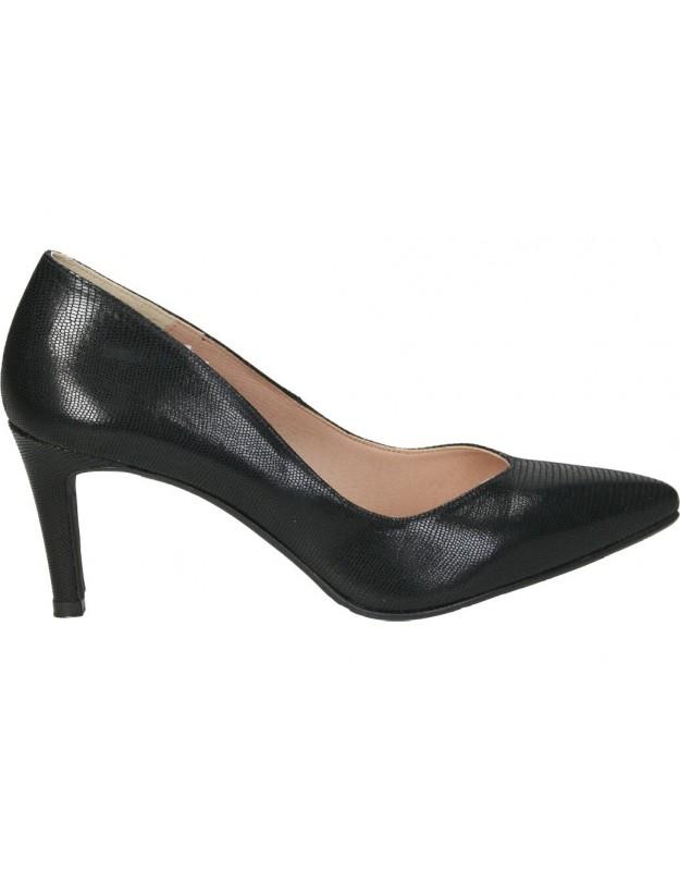 Zapatos casual de señora daniela vega 1092 color negro