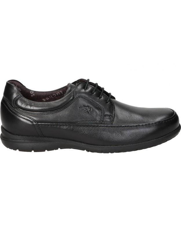 Zapatos fluchos 8498 negro para caballero