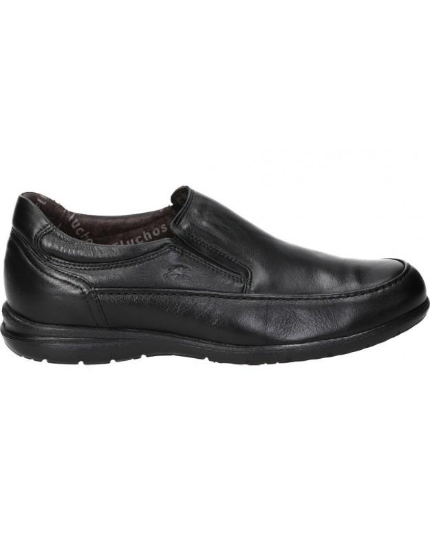 Zapatos casual de caballero fluchos 8499 color negro