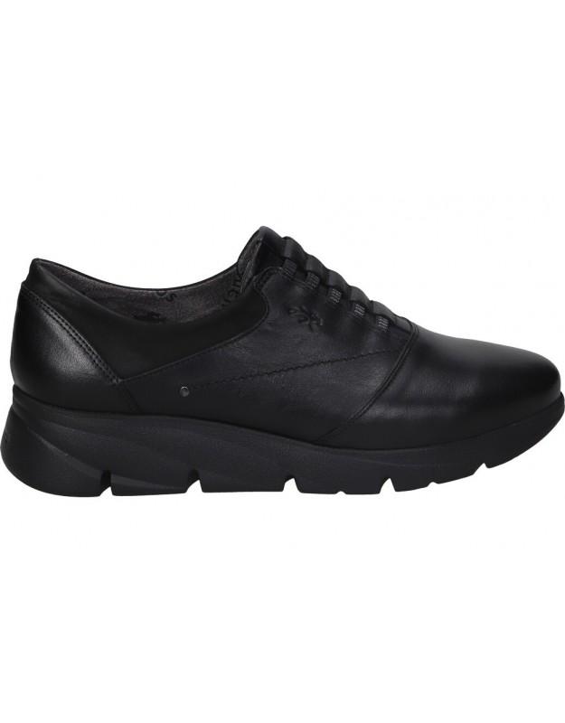 Zapatos casual de señora fluchos f1357 color negro