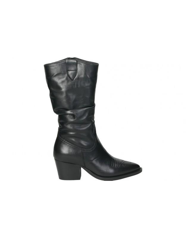 Botas para moda joven planos vexed 4420 en negro