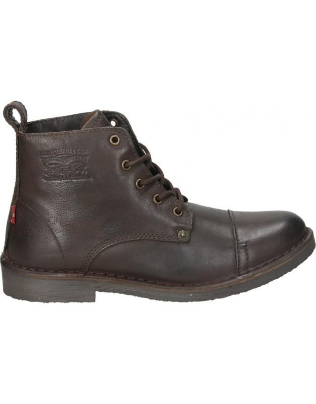 Botas color marron de casual levi´s 228755