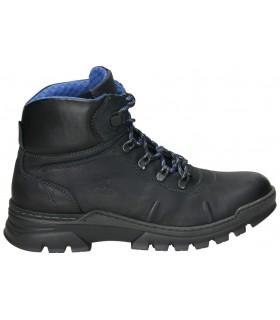 Zapatos para señora planos nature 4414 en negro