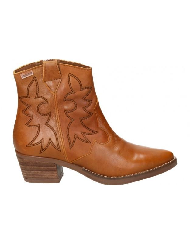 Botines casual de moda joven mtng 58963 color marrón
