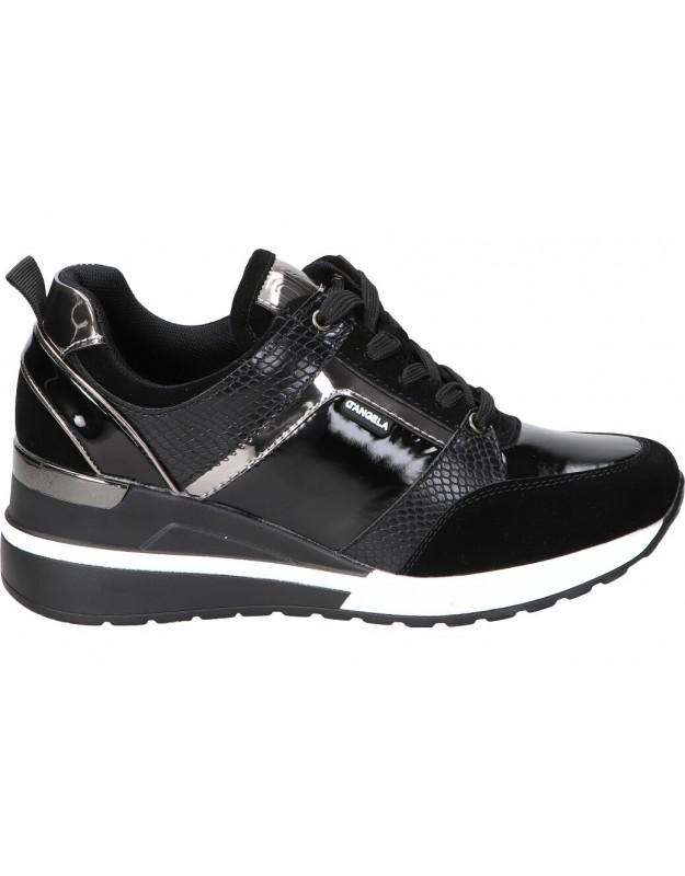 Zapatillas d´angela dbd18047 negro para mujer