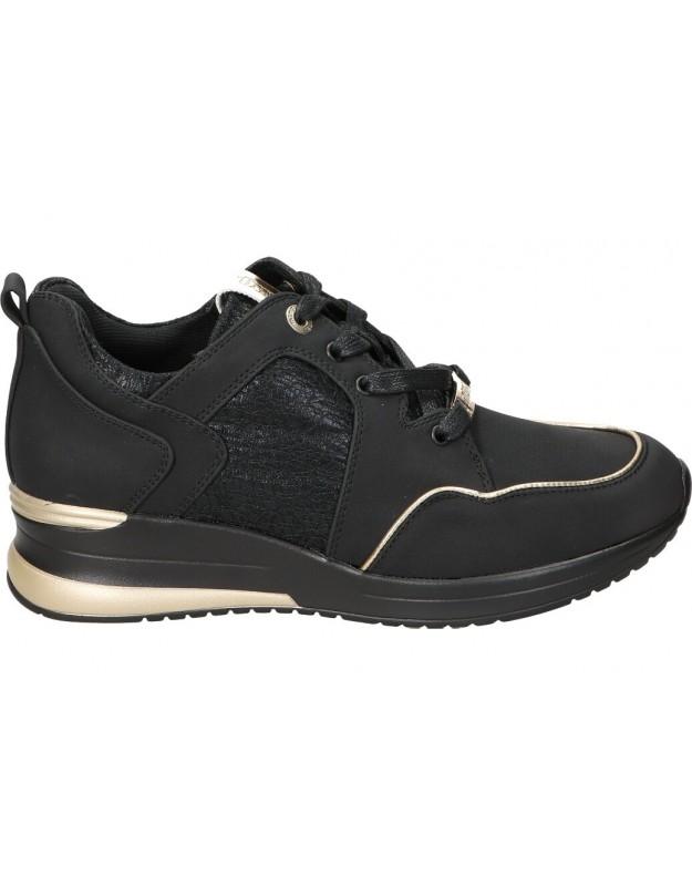 Deportivas casual de moda joven mtng 69165 color negro