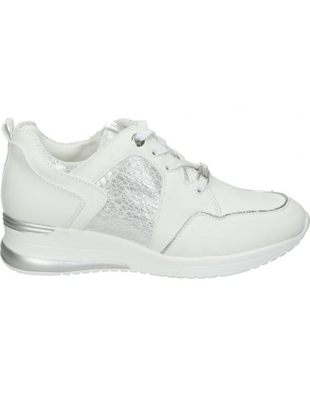Deportivas color blanco de casual mtng 69165