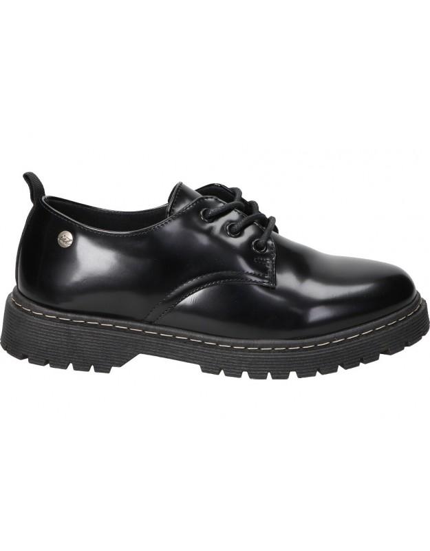 Zapatos para moda joven planos isteria 20282 en negro