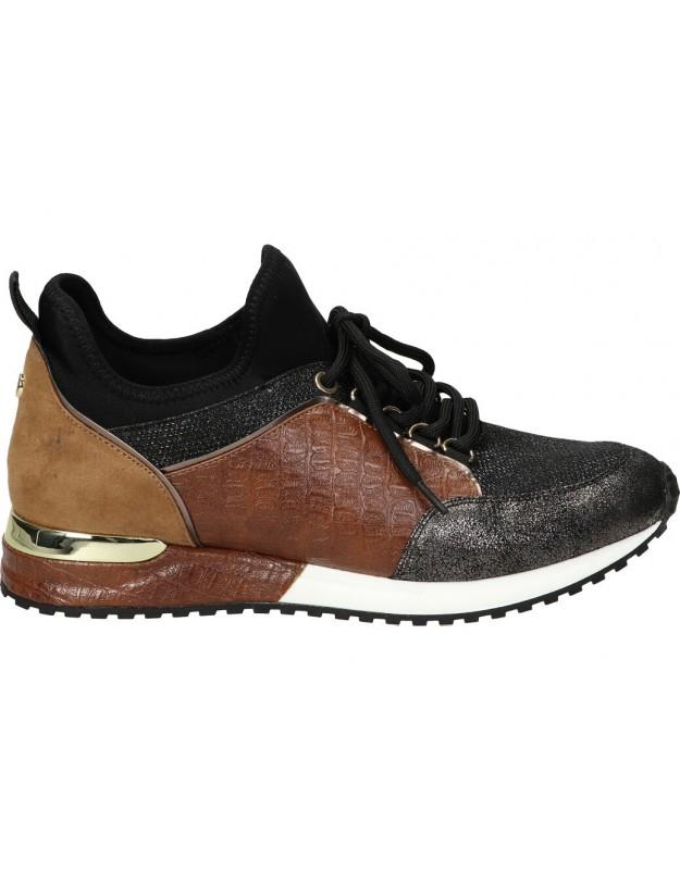 La strada bronce 1900356 Zapatillas casual para mujer