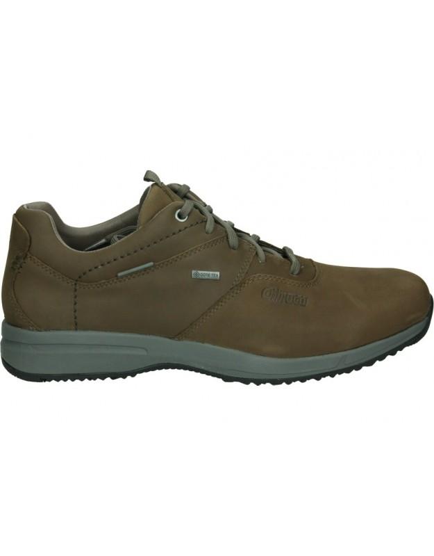 Zapatos para caballero chiruca udine en marron con Goretex
