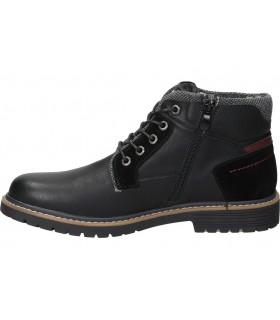 Zapatos de piel natural con cordones callaghan starman 11200 azul para caballero