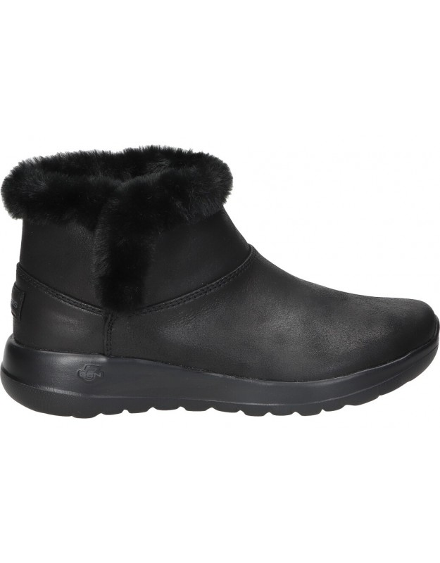 Skechers negro 144013-bbk botas para señora