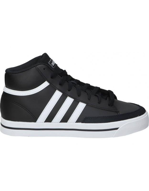Deportivas casual de unisex adidas h02214 color negro