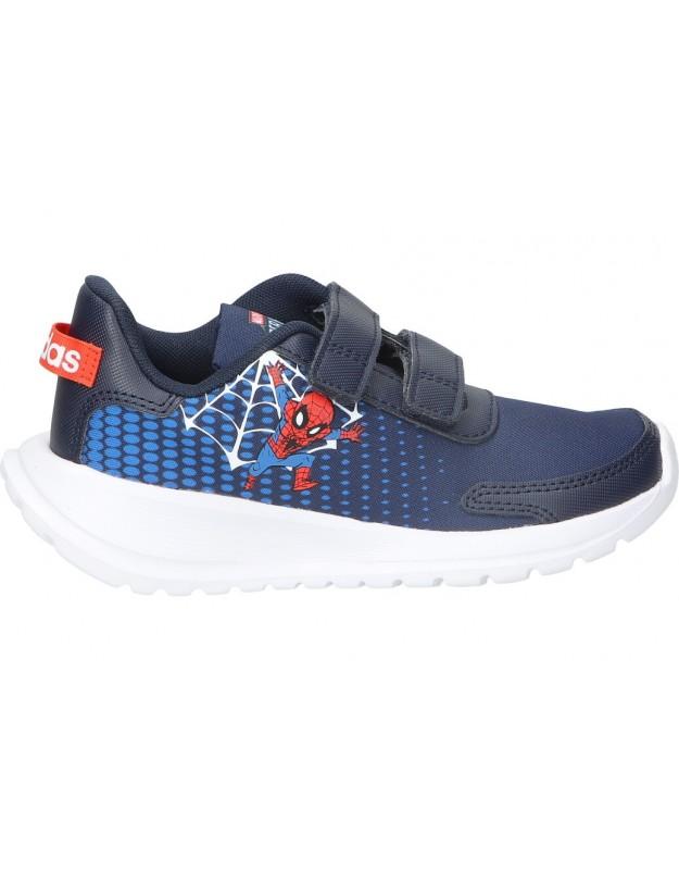 Deportivas color azul de casual adidas h01705