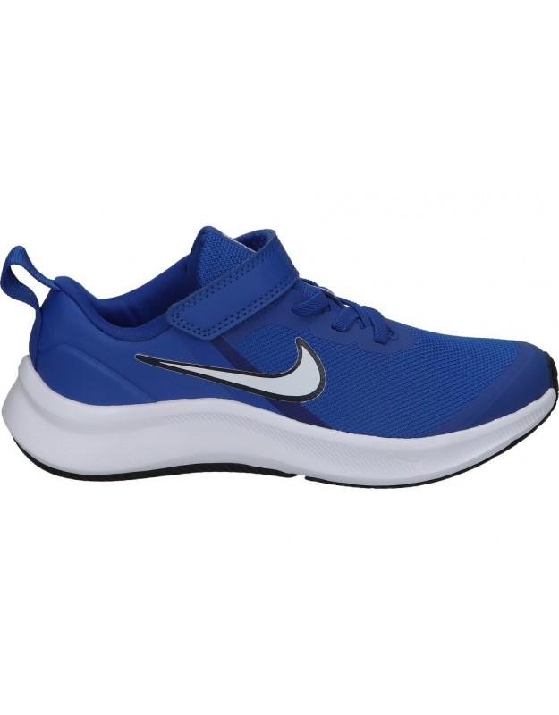 Deportivas nike da2777-400 azul para niño