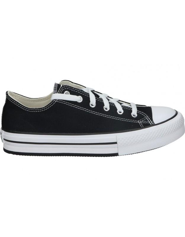 Lonas converse 670892c-001 negro para moda joven