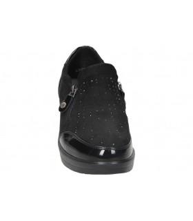 Botas para señora tacón stay 83-158 en negro