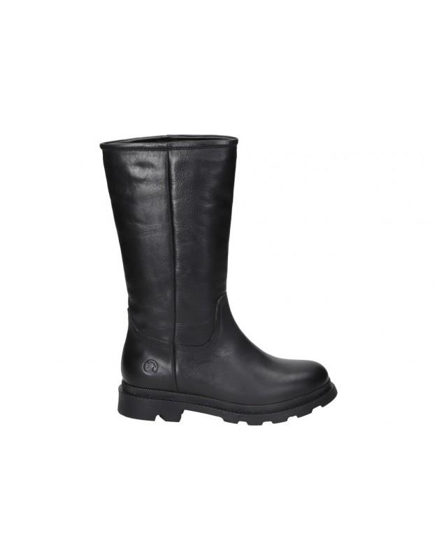 Botines casual de moda joven c. tapioca c1140-11 color negro