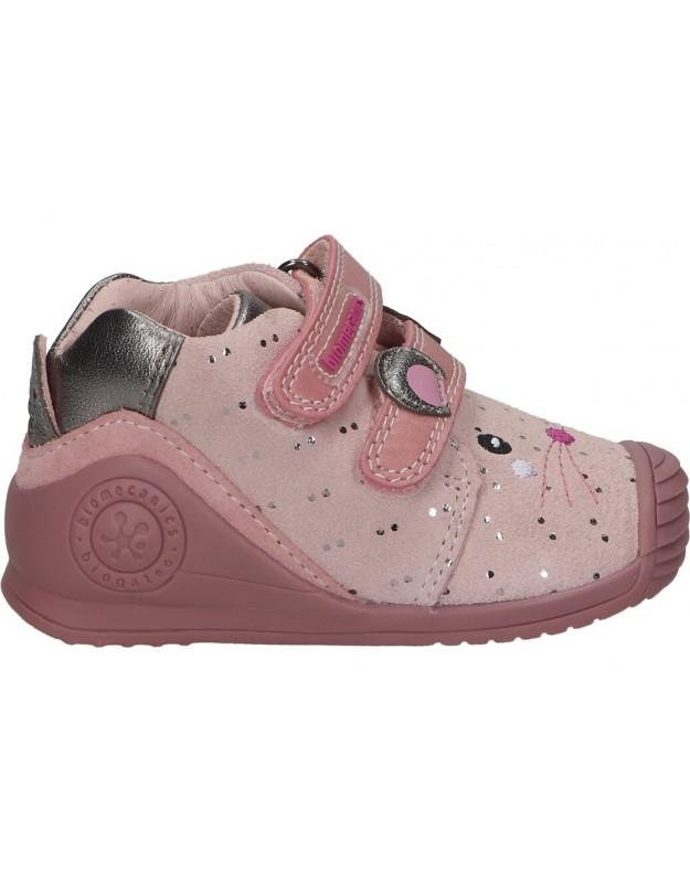 Zapatos biomecanics 211115 a rosa para niña