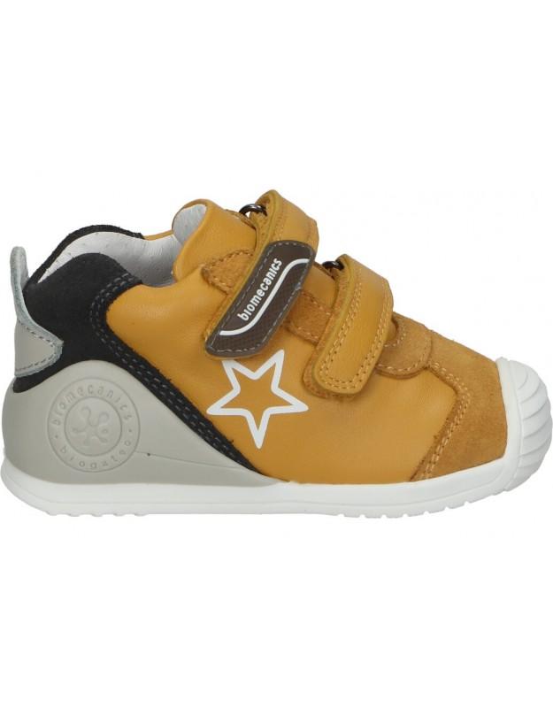 Zapatos biomecanics 211145 b amarillo para niño