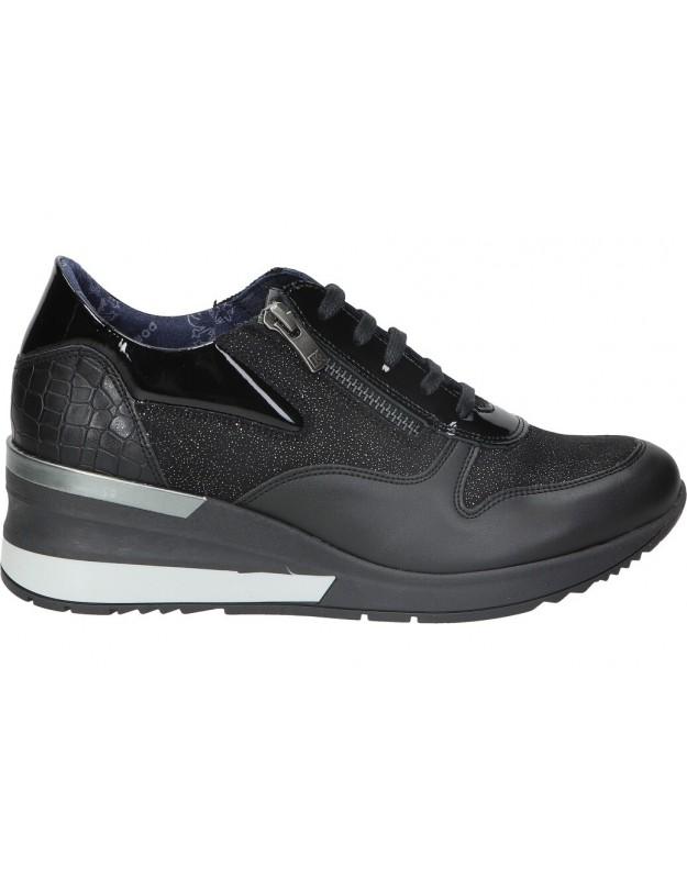 Dorking negro d8589 zapatos para señora