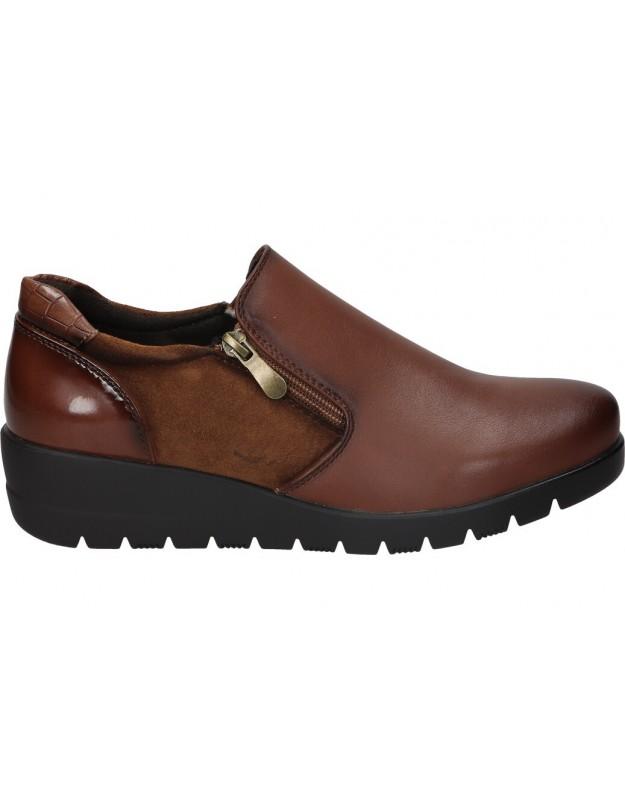Zapatos para señora hispaflex 2143 marron
