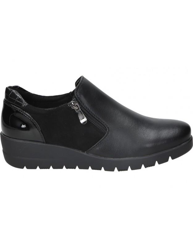 Zapatos color negro de vestir hispaflex 2143