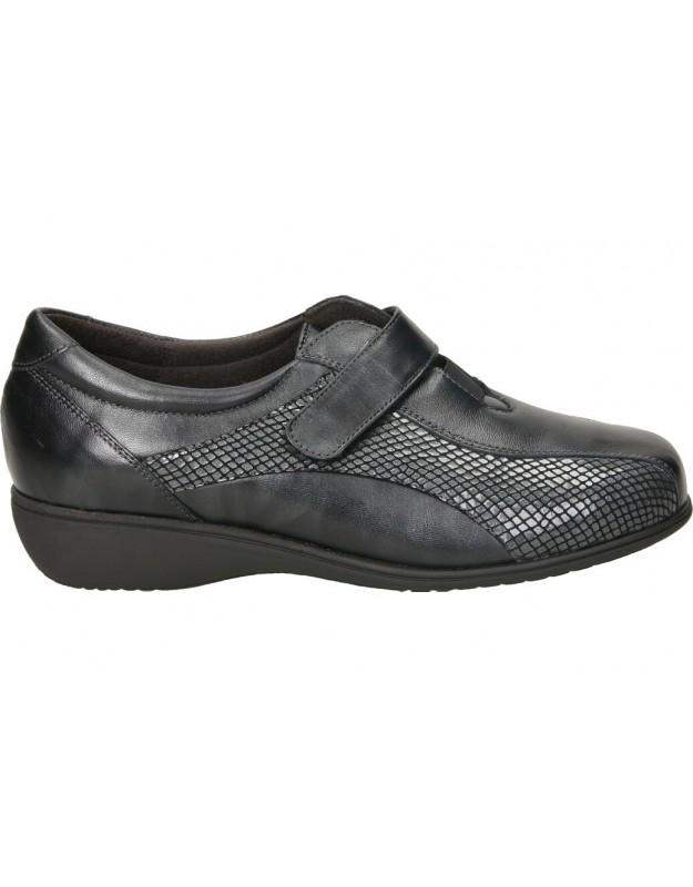 Zapatos color gris de casual doctor cutillas 53521